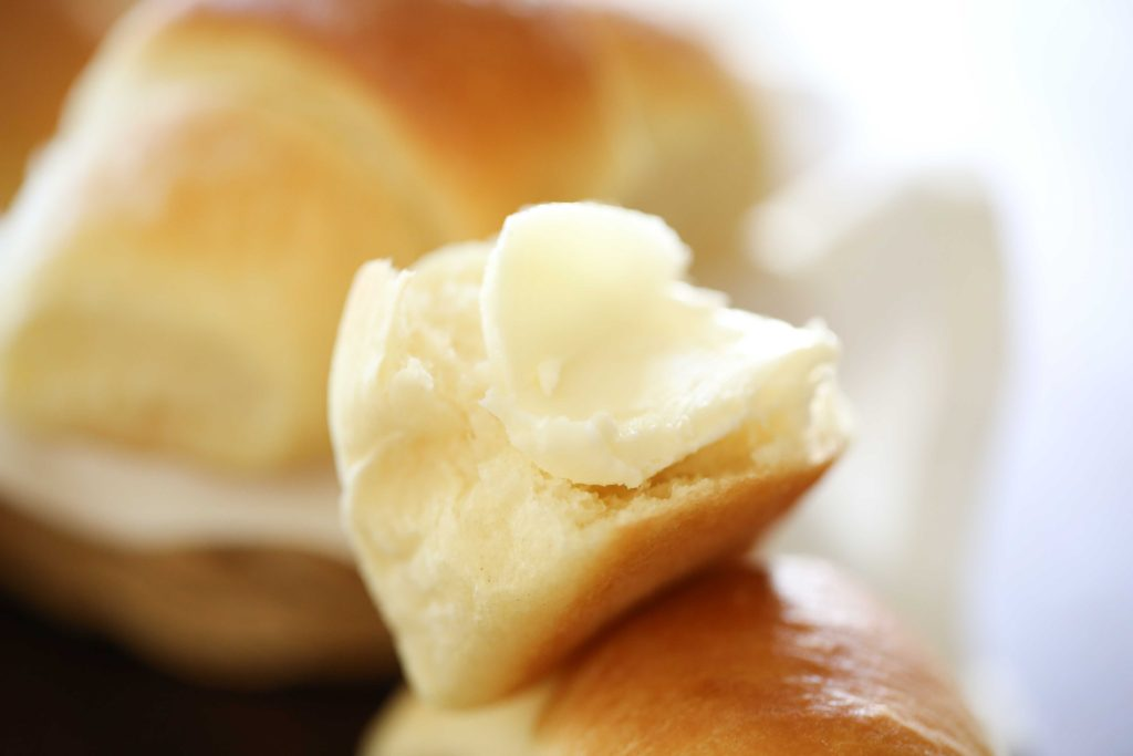 These rolls will melt in your mouth, ... and that's probably the butter.