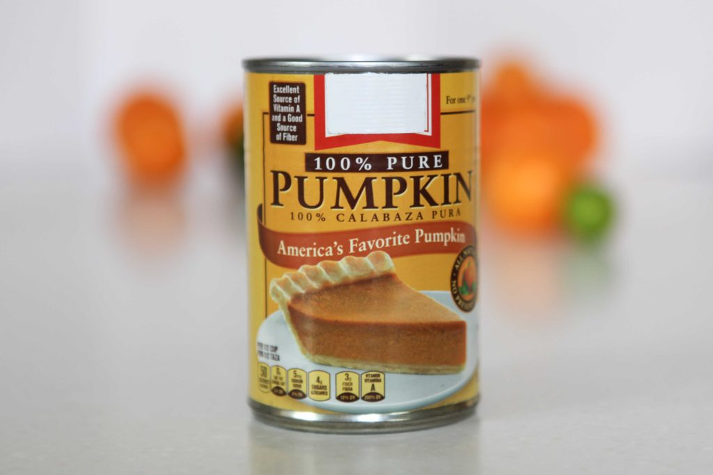 It isn't quite as good as fresh pumpkin, but it's still really good. Just be certain that you don't buy pumpkin pie filling. Get the pure pumpkin.