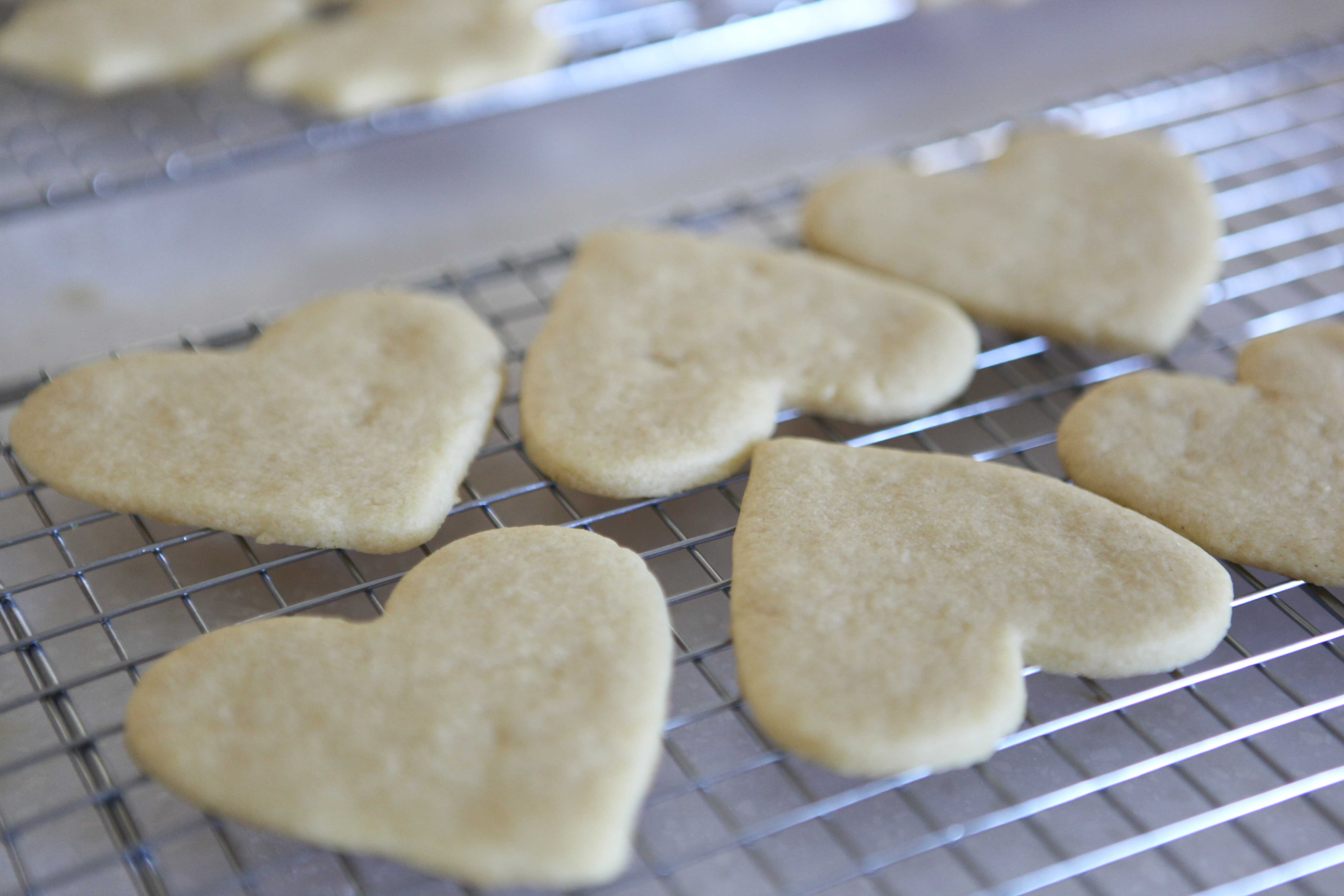 Be My Valentine Sugar Cookies