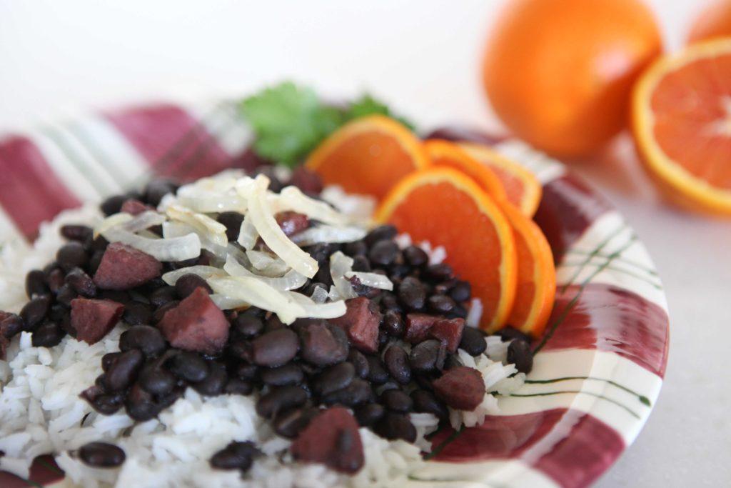 Black Beans (Feijoada) and Rice