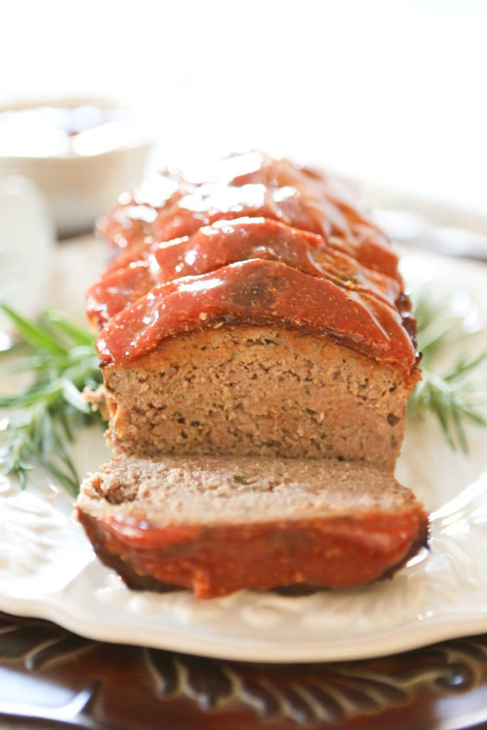 White Apron Meatloaf with Piquant Sauce