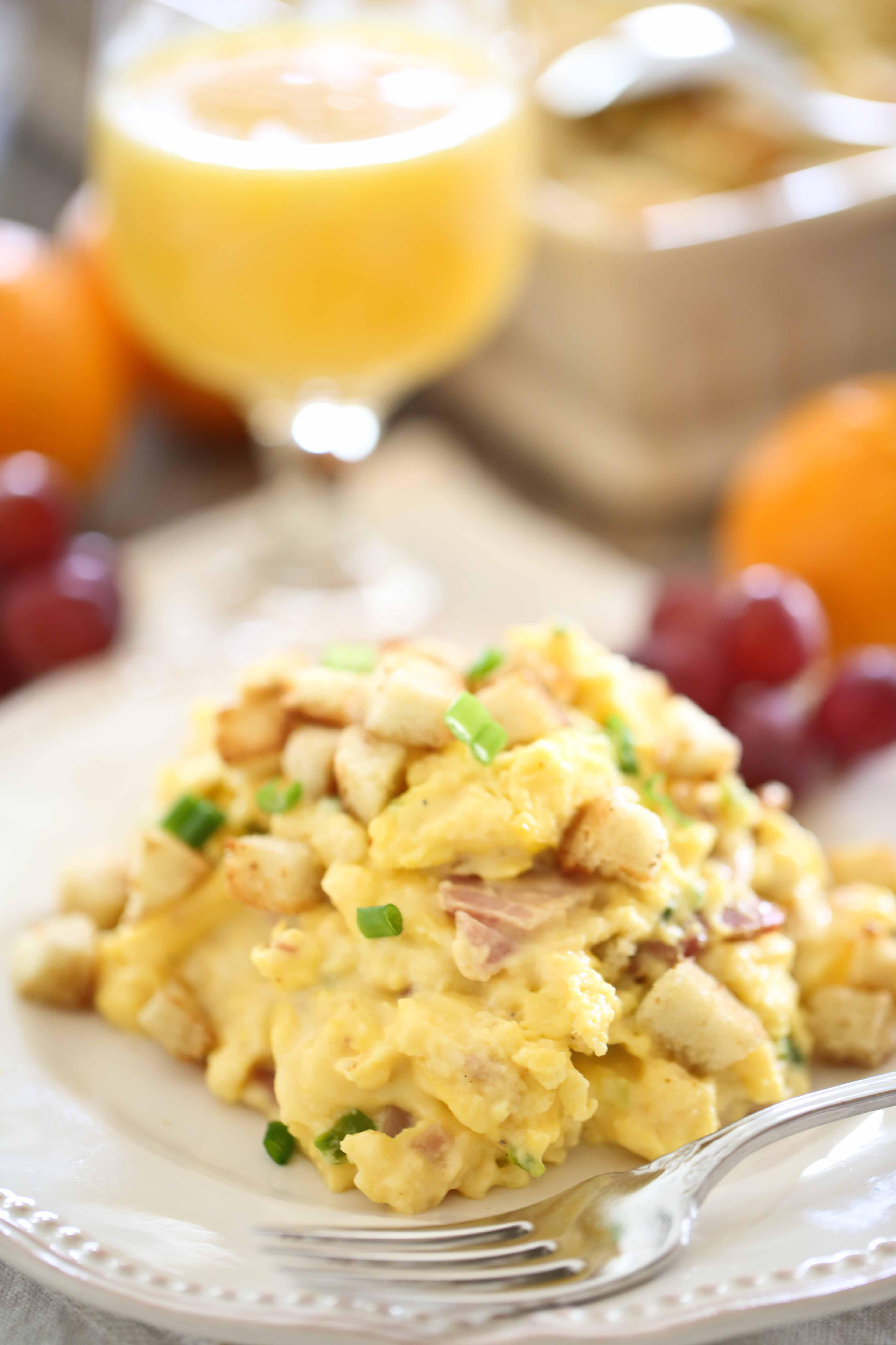 Scrambled Egg Casserole Recipe