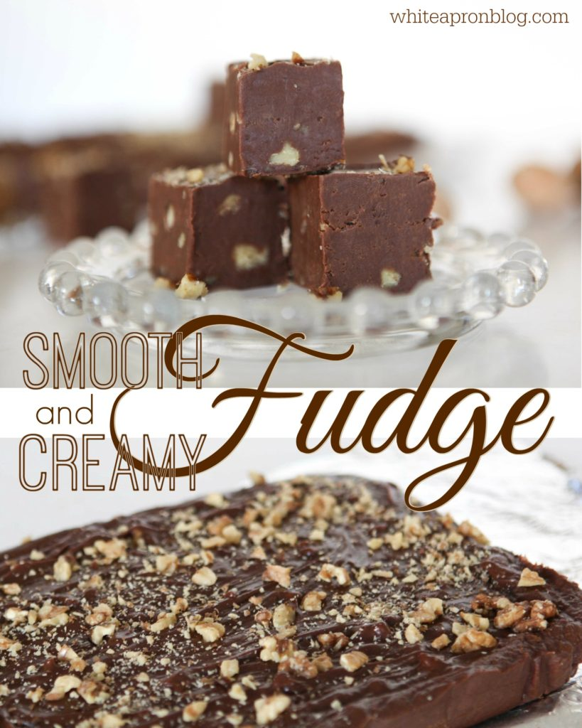 Smooth and Creamy Fudge