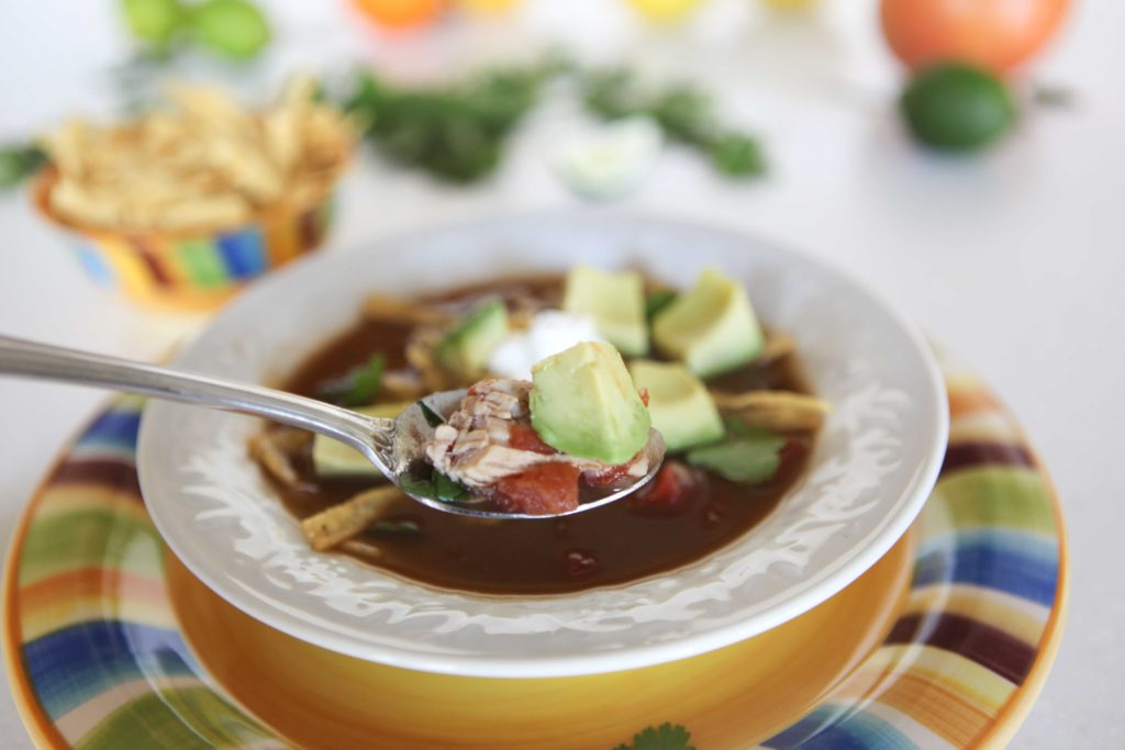 Quick and Easy Tortilla Soup
