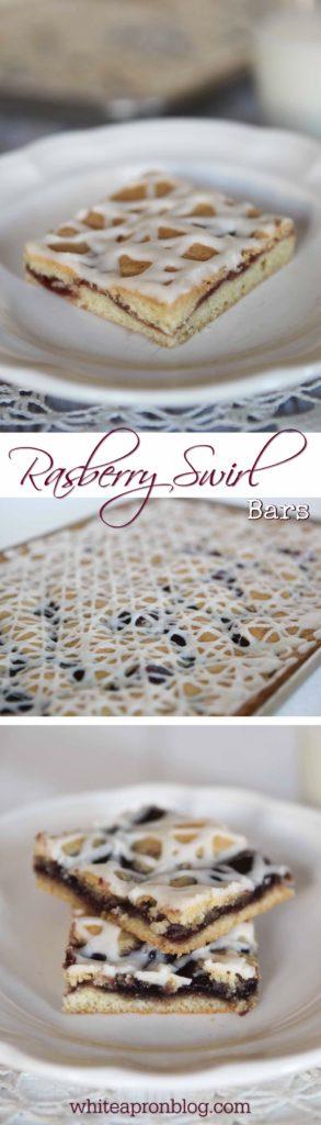 Raspberry Swirl Bars