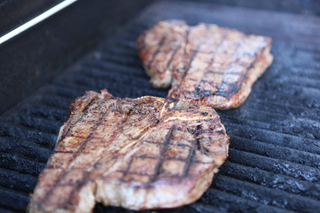 Turn heat to low and continue to cook to desired doneness.