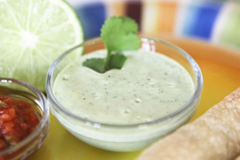Homemade Cilantro-Ranch Salad Dressing