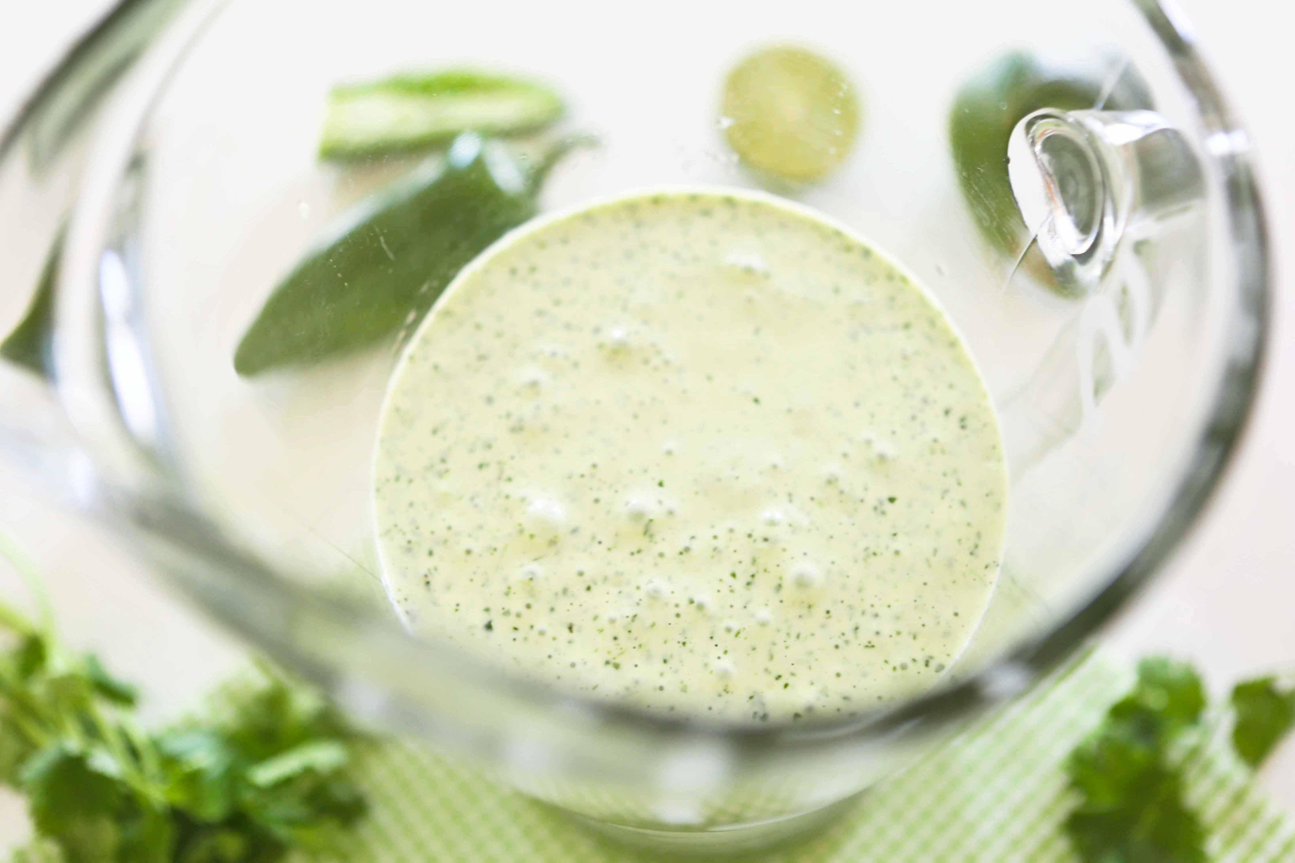 Cilantro-Ranch Salad Dressing