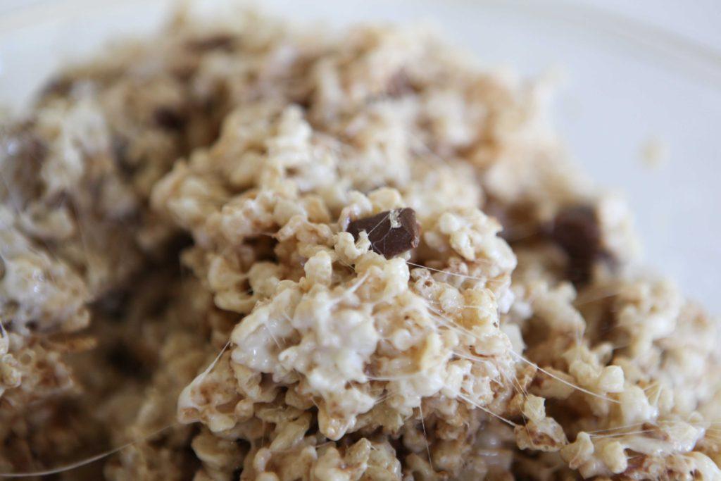 Rolo Rice Krispie Treats
