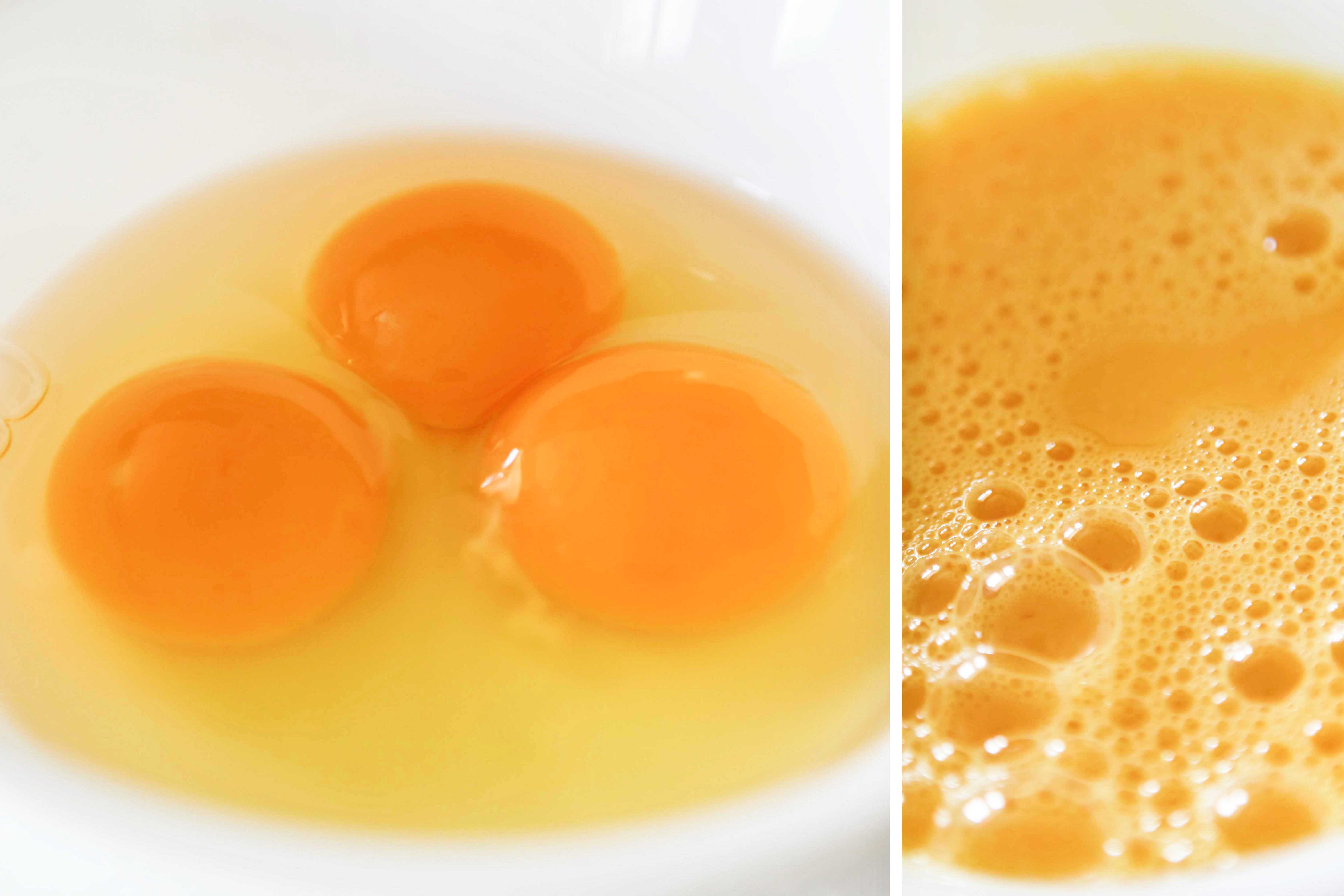 2 whole eggs