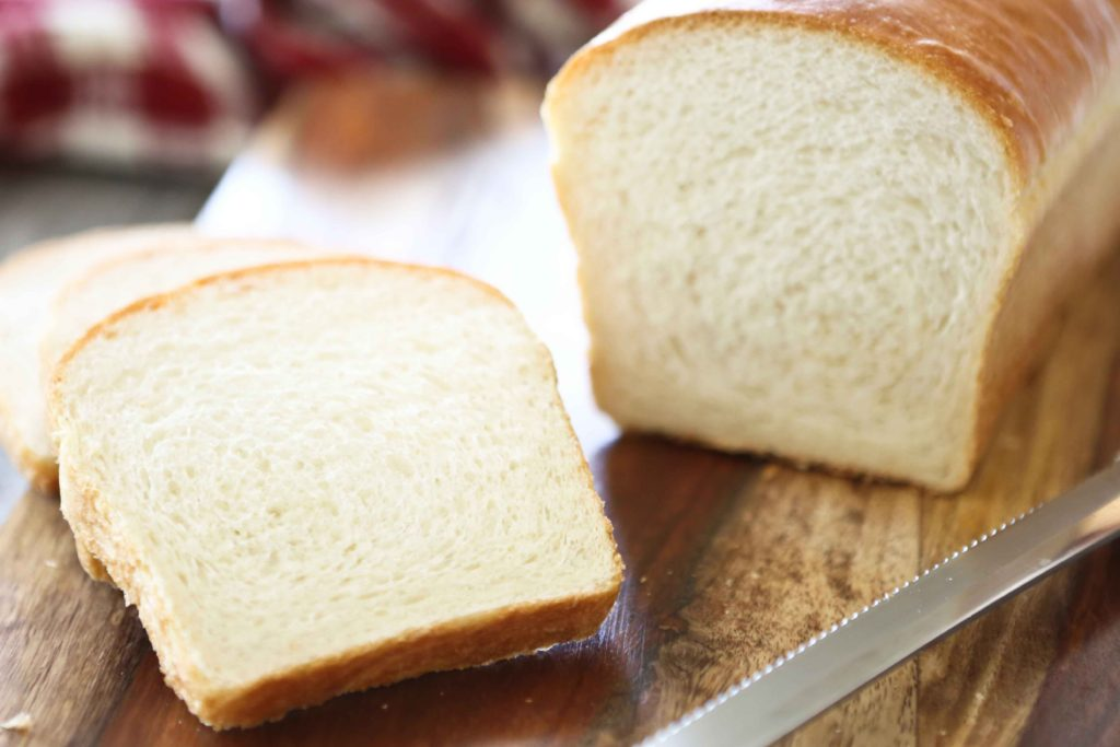 slices of Delicious and Easy Homemade White Bread