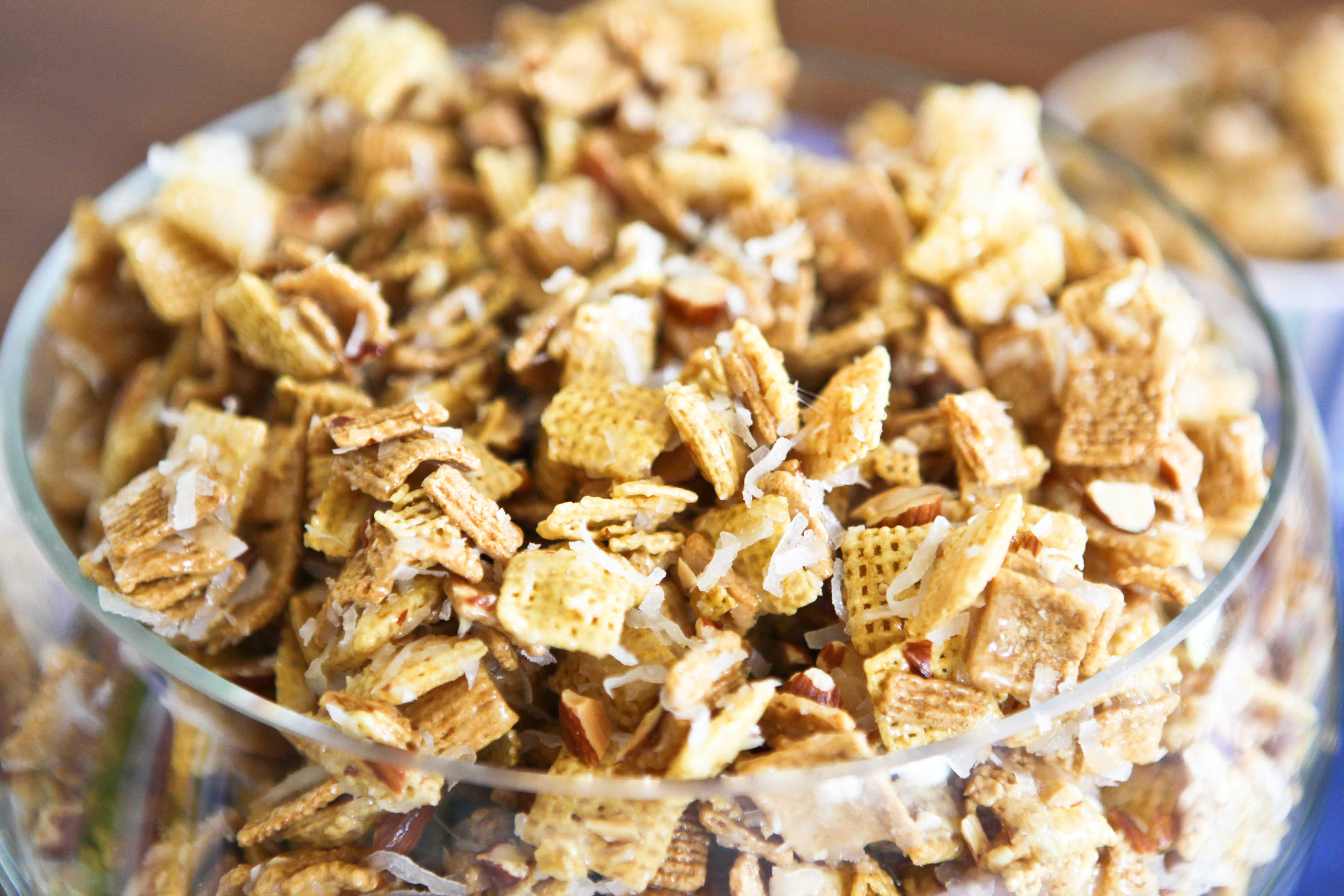 Sweet and Chewy Chex Mix