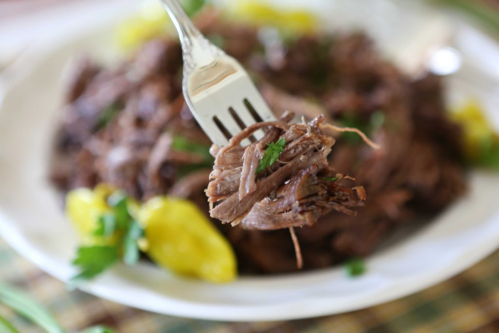 Crockpot Mississippi Roast