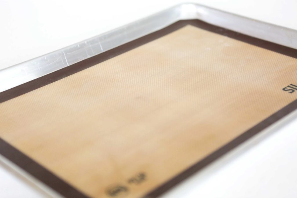 Preheat oven to 350 degrees F. Place silicon mats or parchment paper on baking sheet, or grease them.