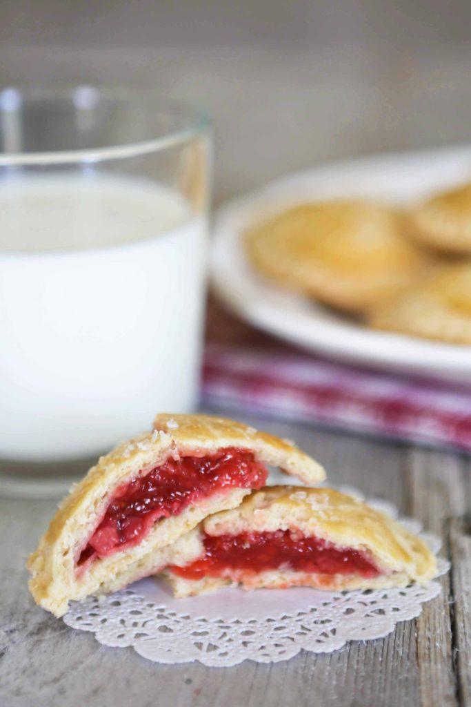 Fresh Strawberry Hand Pies
