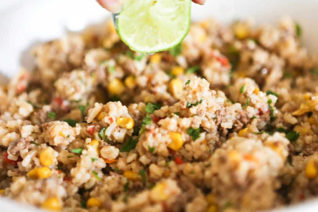 Sprinkle with fresh lime juice, ...