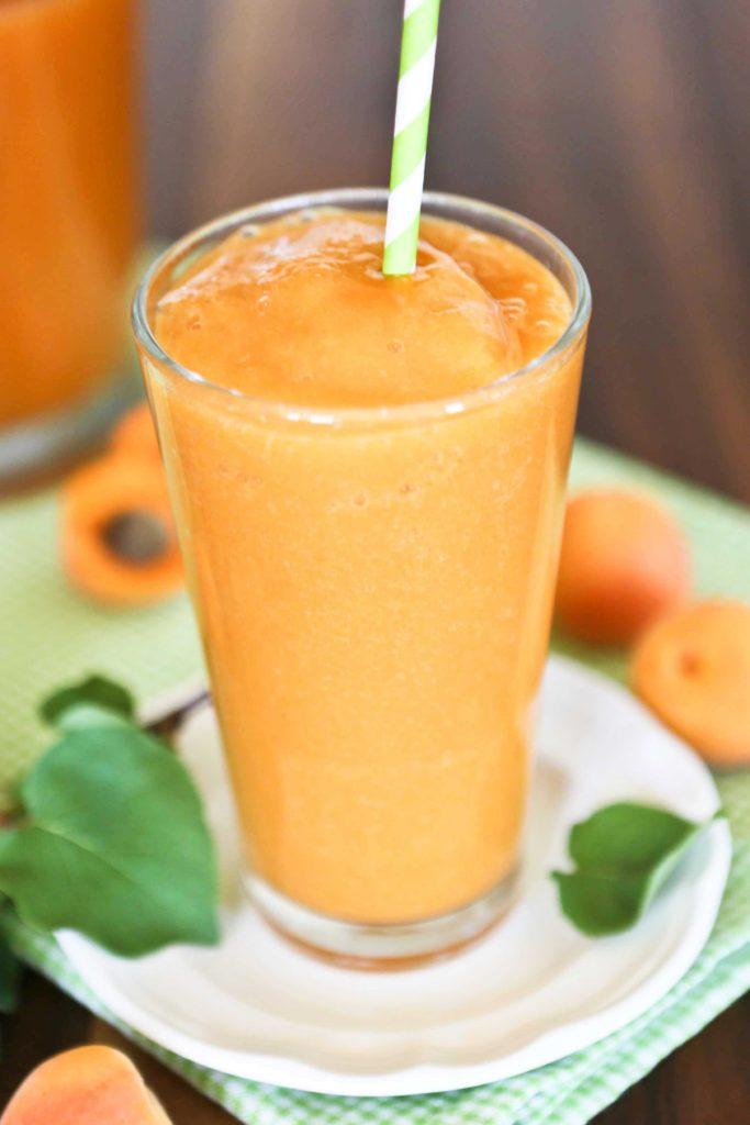 Apricot Nectar Slushie