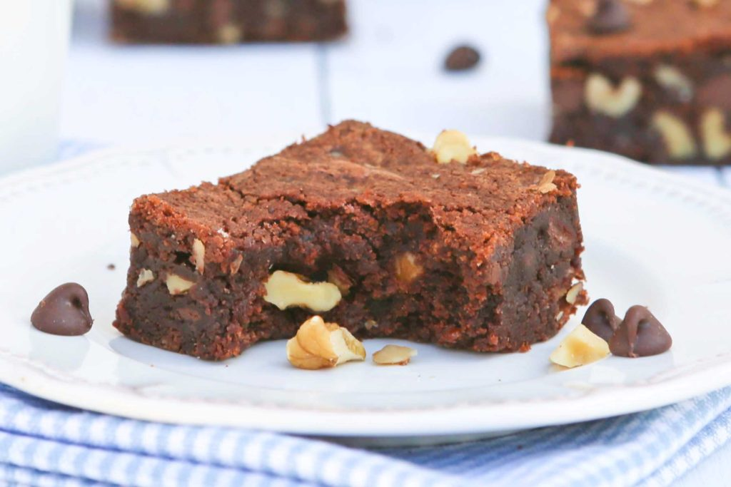 Classic Double Chocolate Fudge Brownies