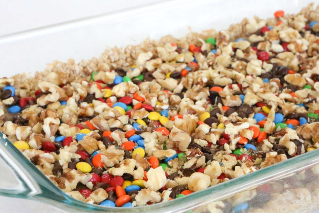 Top with 1 cup chopped nuts