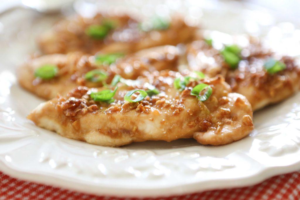 Sweet Garlic Chicken Breasts