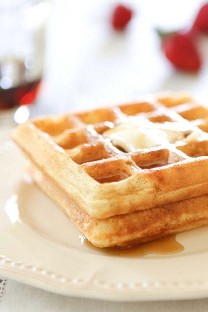 White Apron Waffles