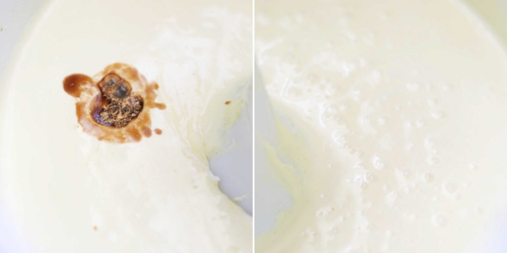 Beat in 2 teaspoons pure vanilla extract