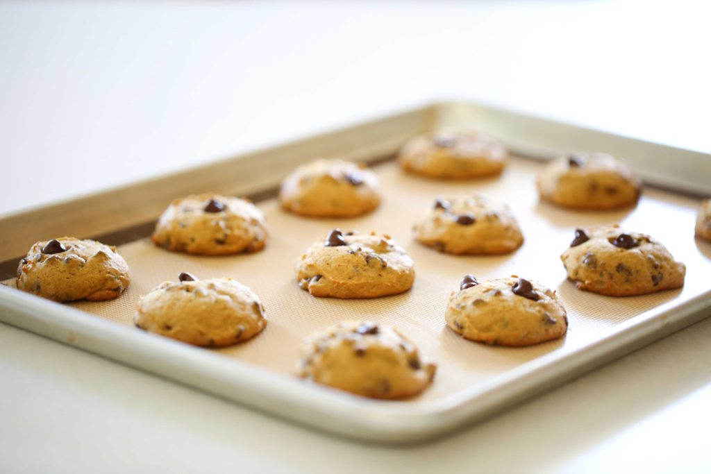 Remove from oven, and allow to cool in pan for 2 minutes.