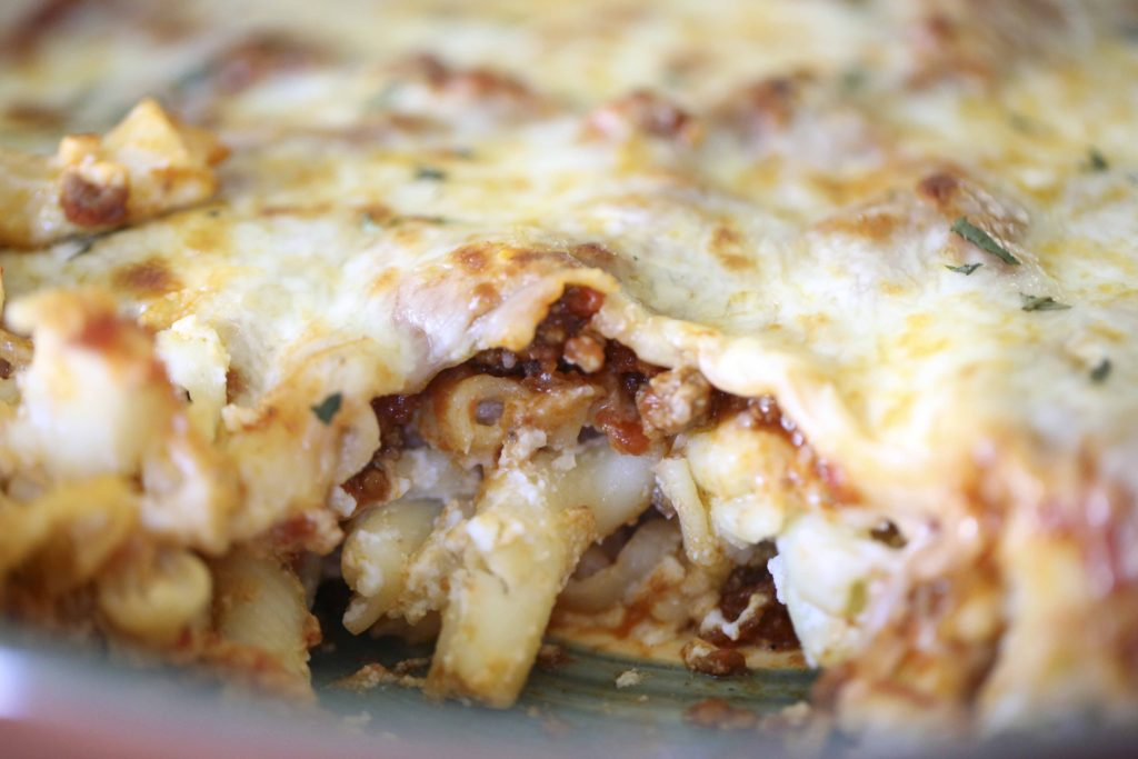 Simple Layered Pasta Bake