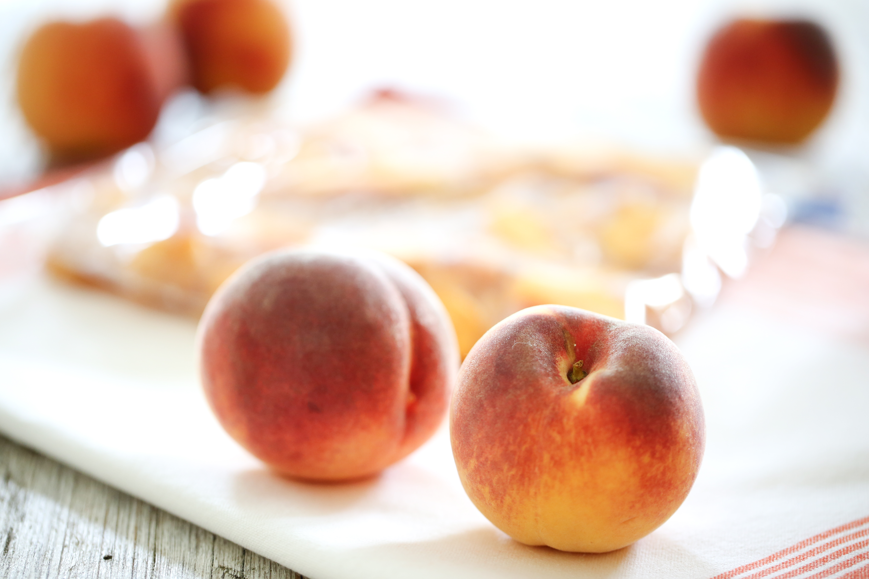 Freezing Peaches (How to)