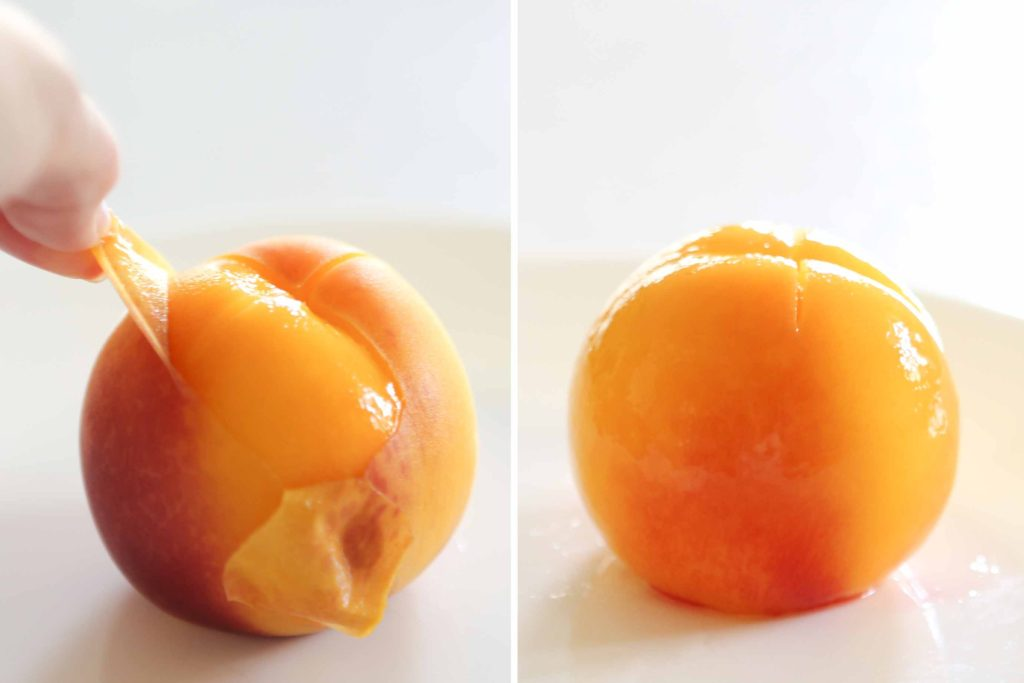 Now just lift a corner of the peel, and gently pull it off. It's super easy!