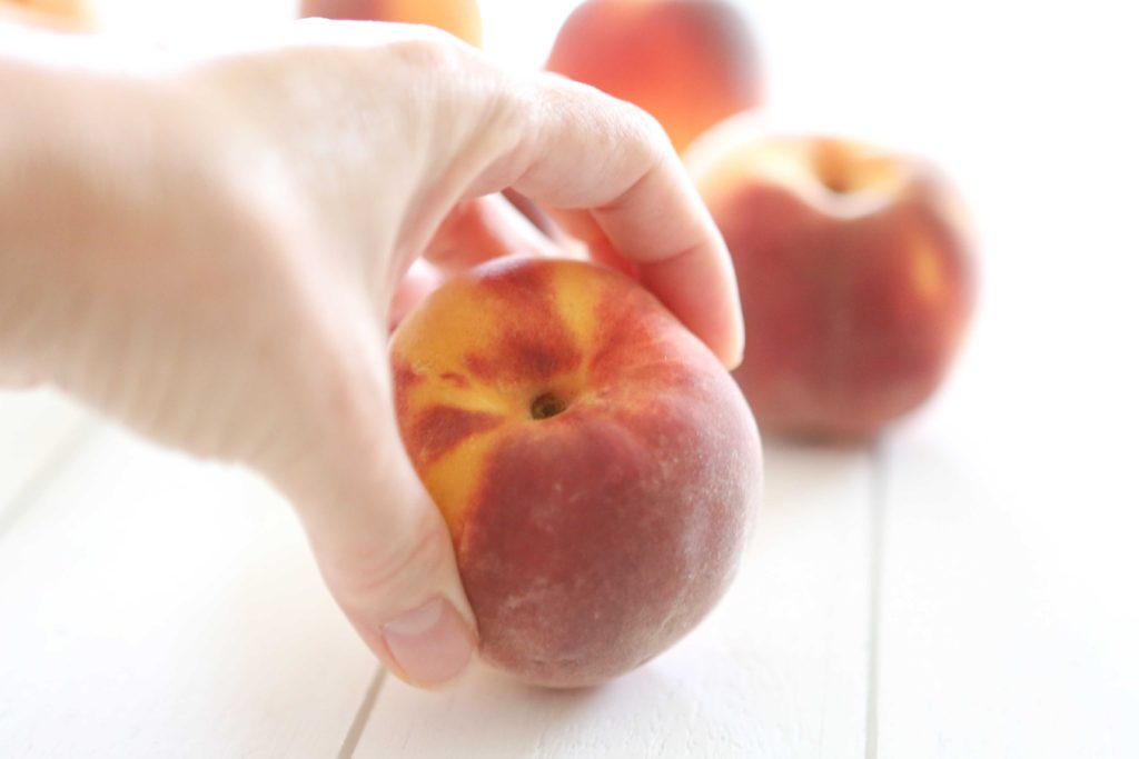 Choose fresh, tree-ripened peaches for best results. They should yield slightly to gentle pressure when squeezed.