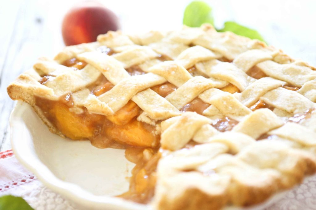 Perfect Peach Pie