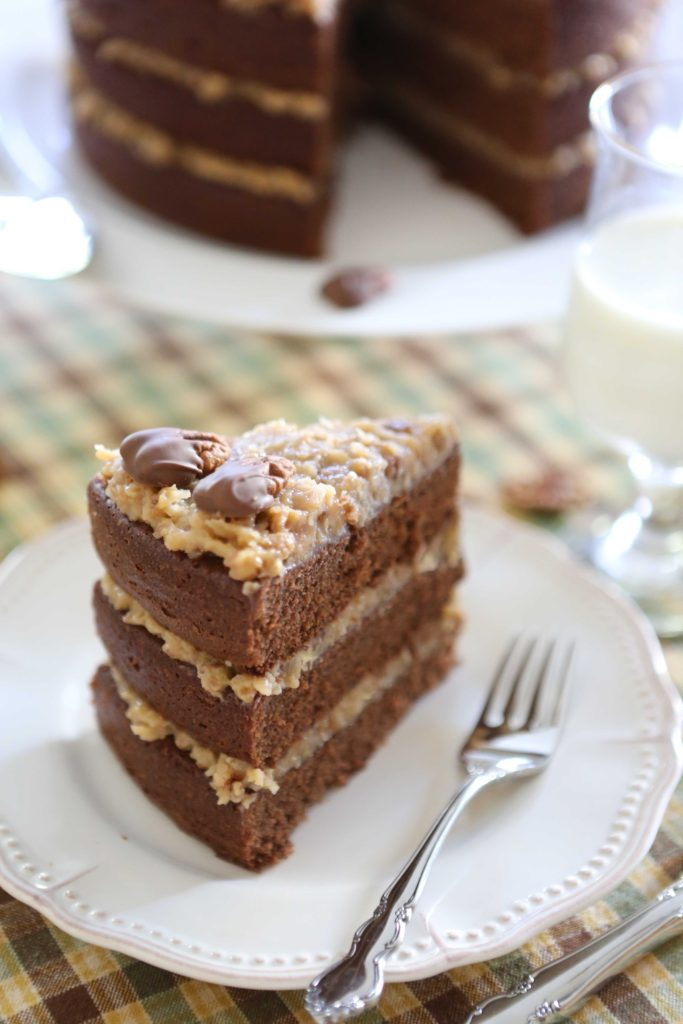 German Chocolate Cake and Frosting