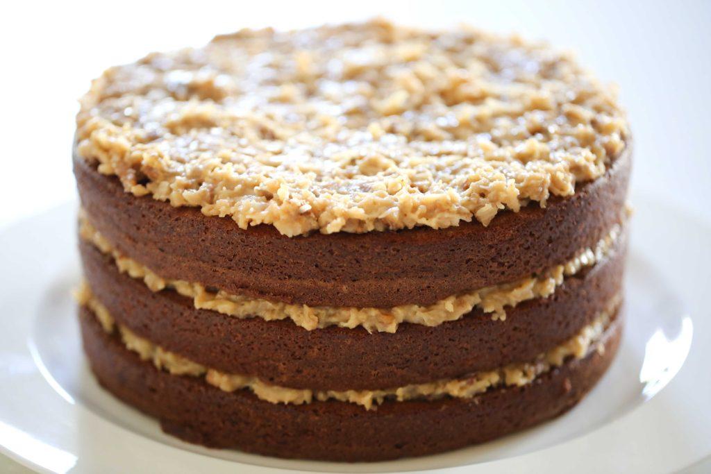 Spread on cake.