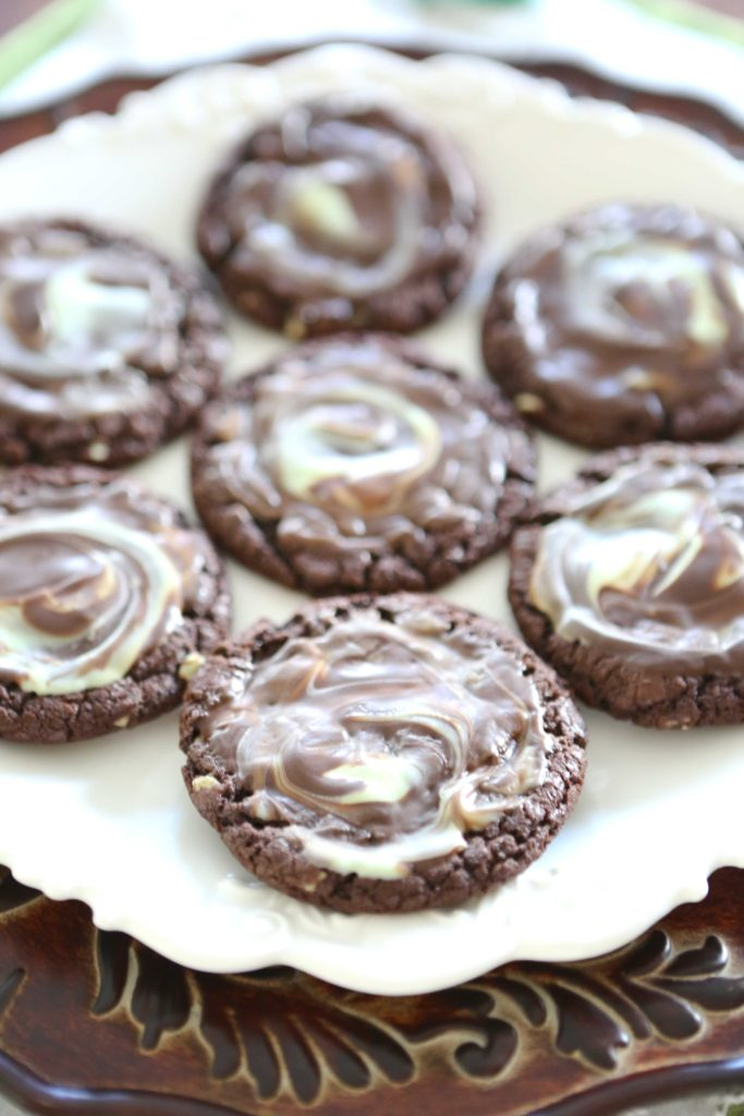 Chocolate Andes Mint Cookies