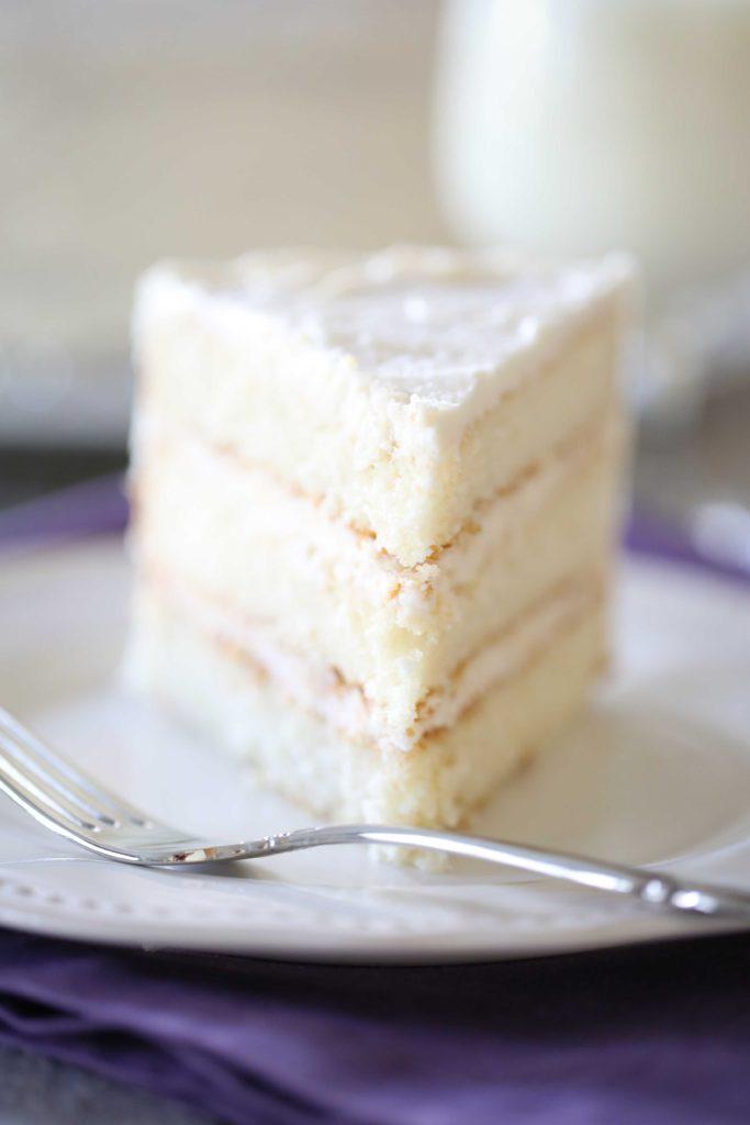 Deliciously Light White Cake