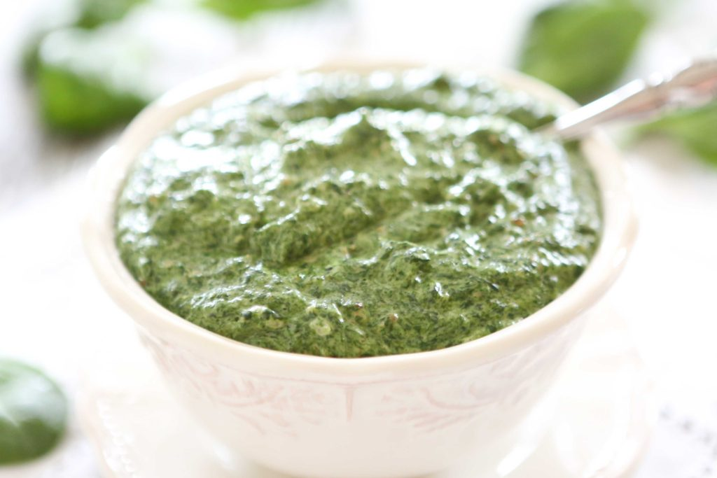 That's how I got this BEAUTIFUL green creamed spinach.