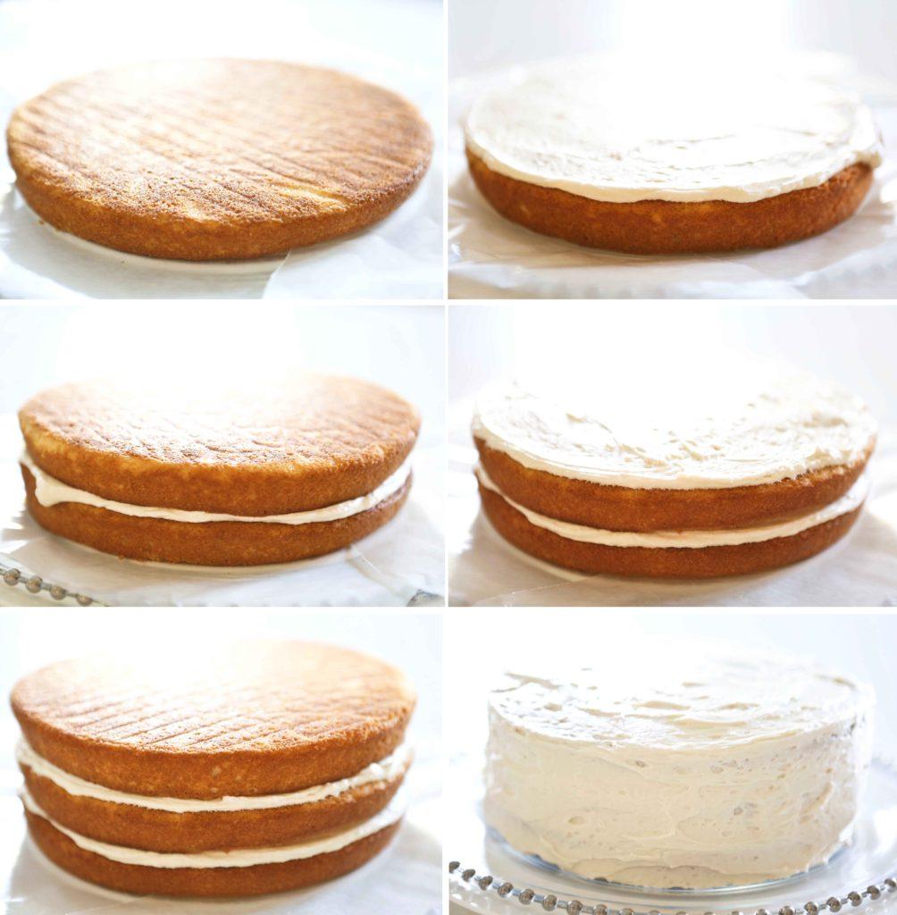 frosting Sweet Buttercream Peppermint Cake