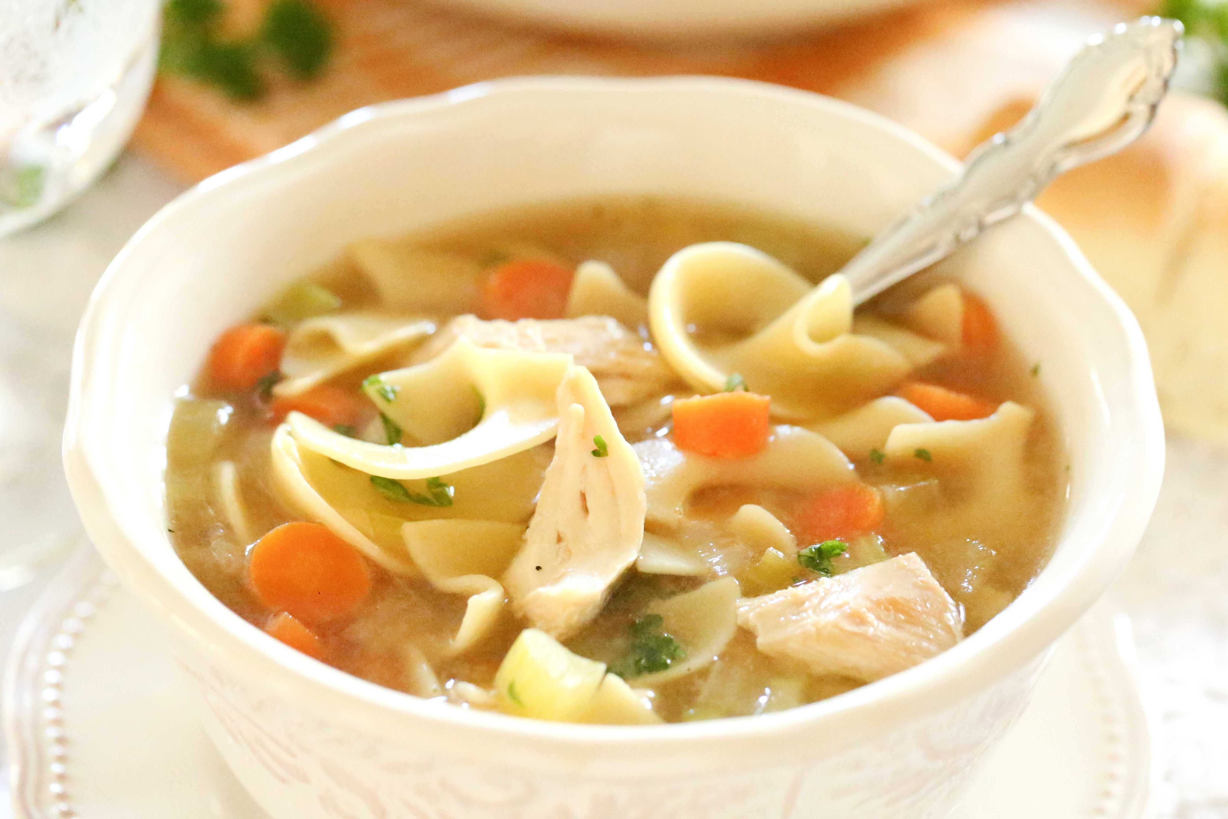 Soothing Chicken Noodle Soup
