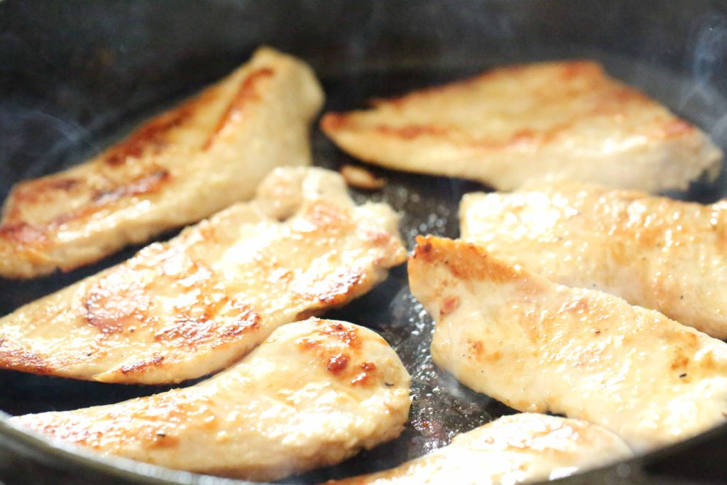 Cook in batches until browned (3-5 minutes per side).
