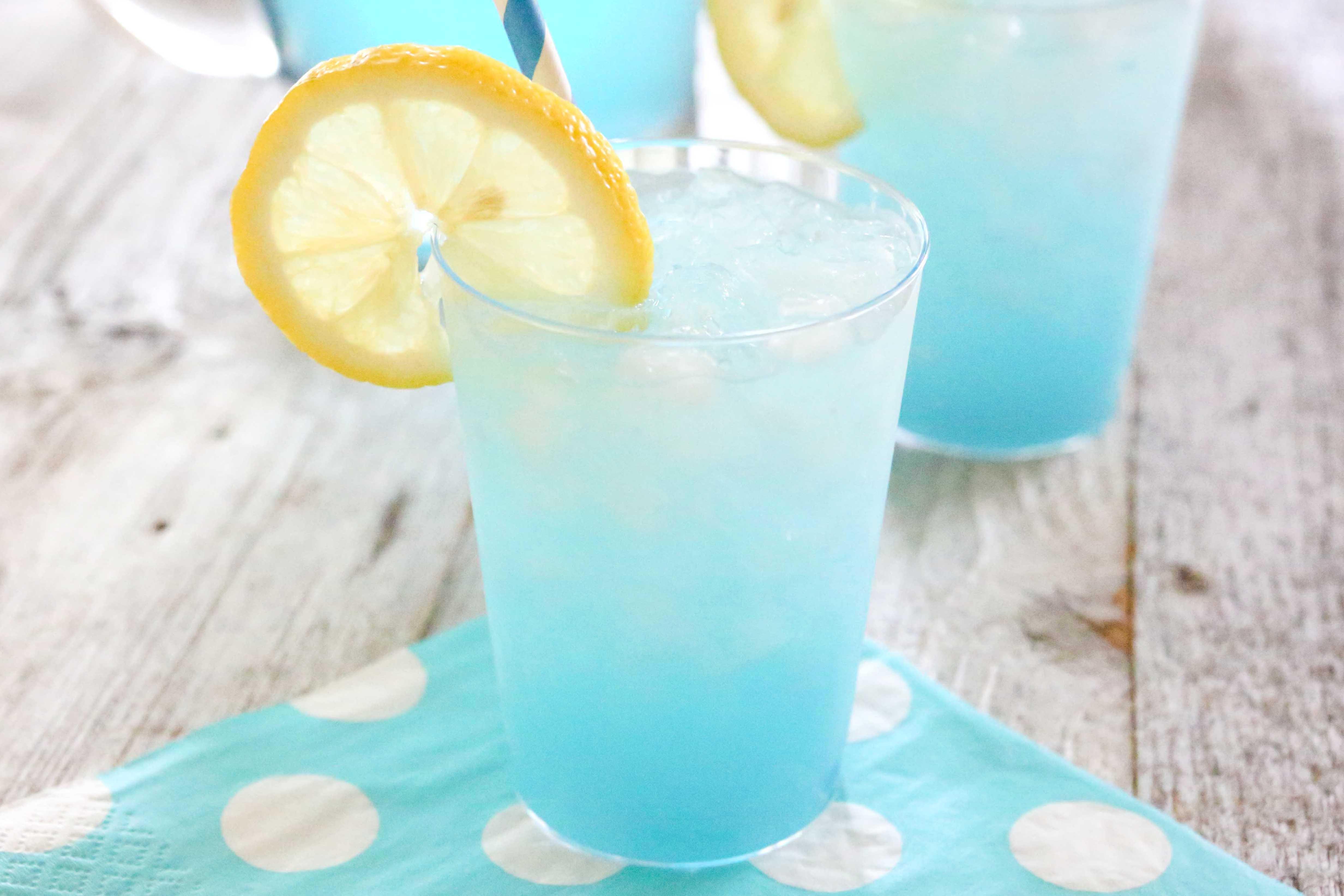 Bennett's Berry Blue Colada