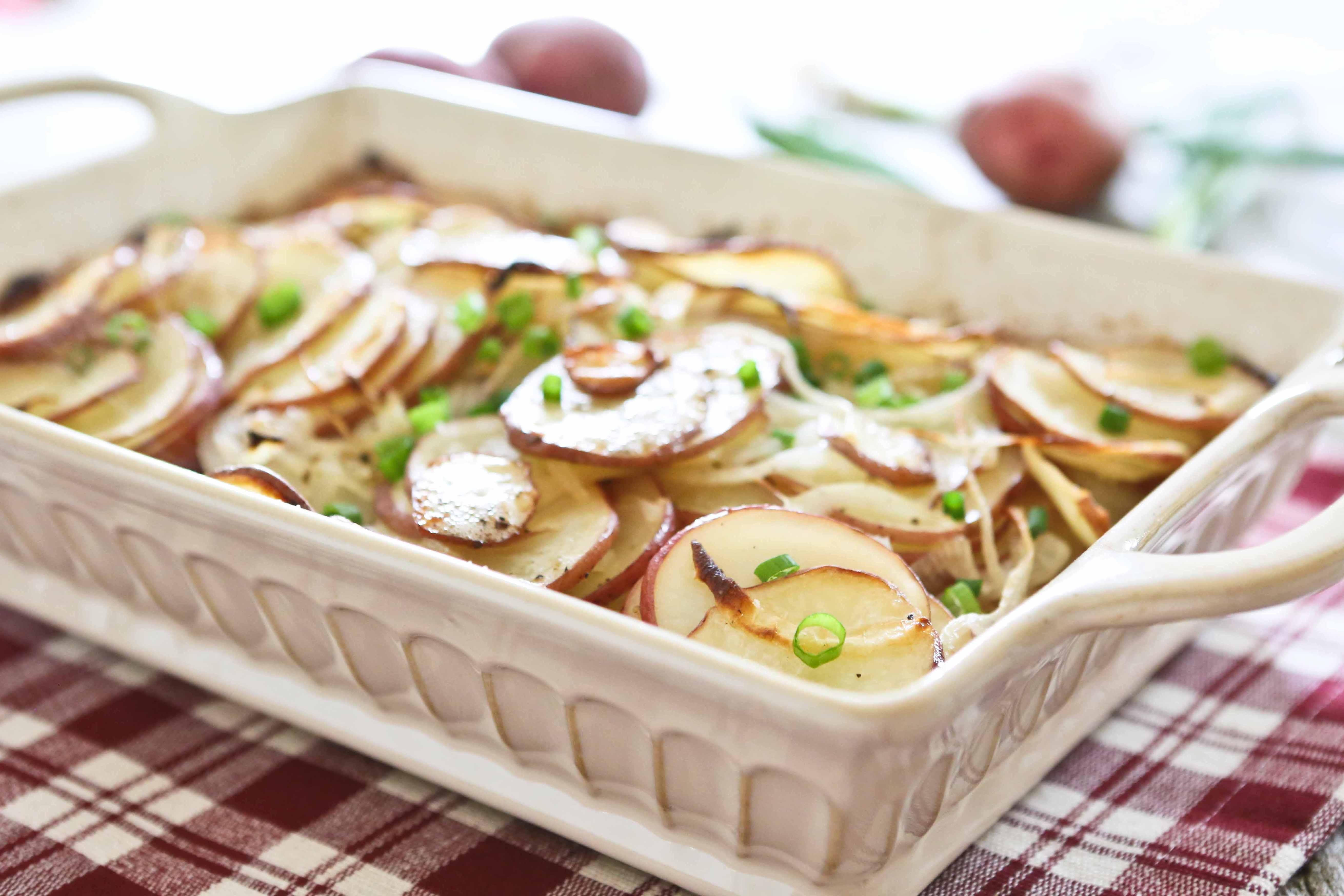 Roasted Sliced Potatoes