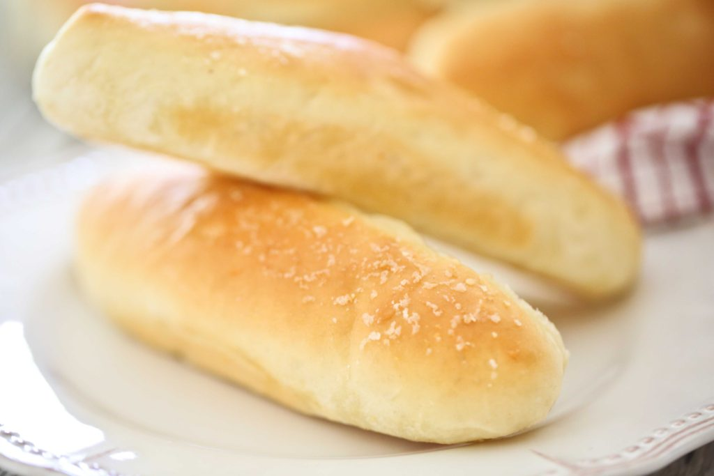 Homemade Soft, warm, fresh Breadsticks