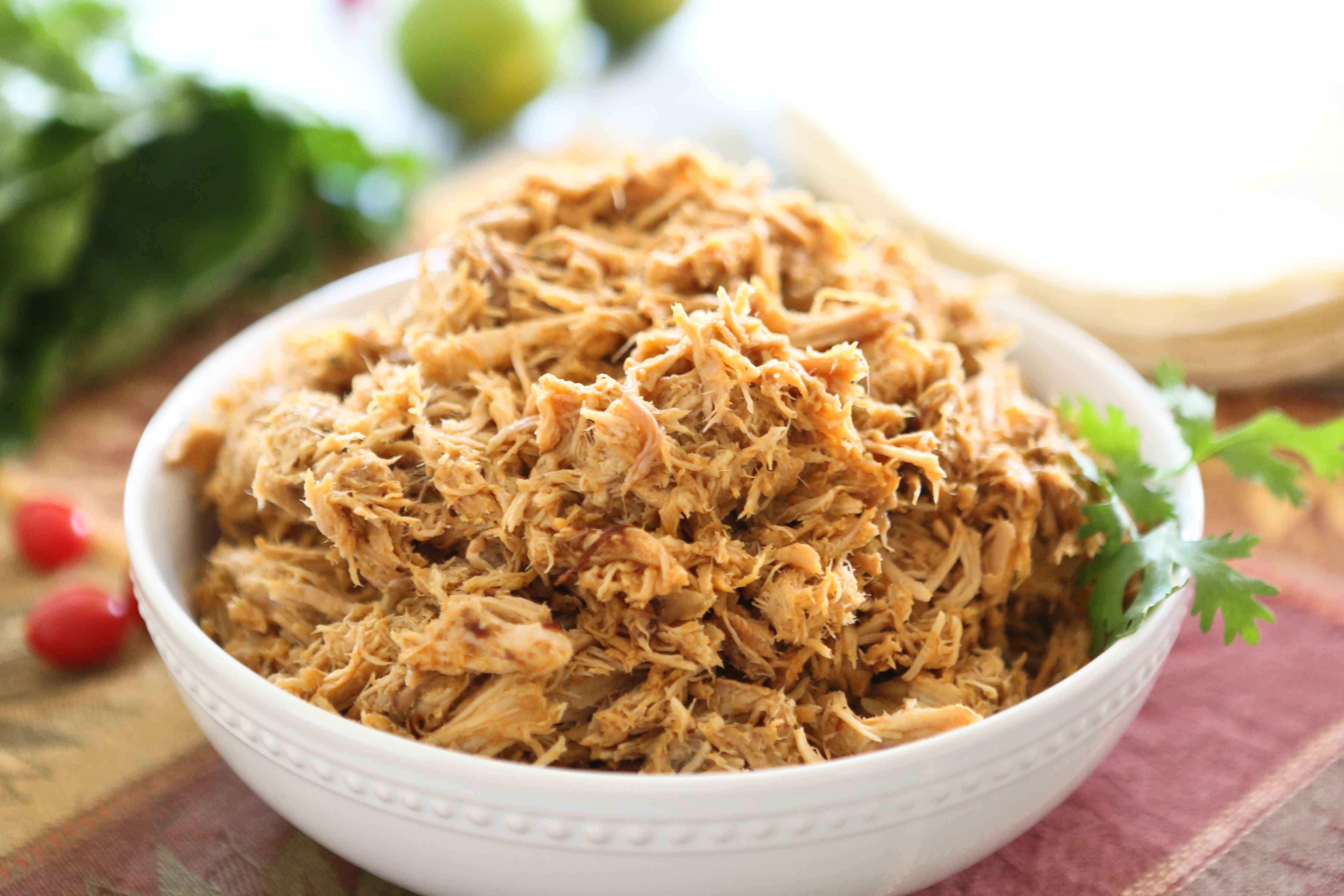 Cafe Rio Style Sweet Pulled Pork