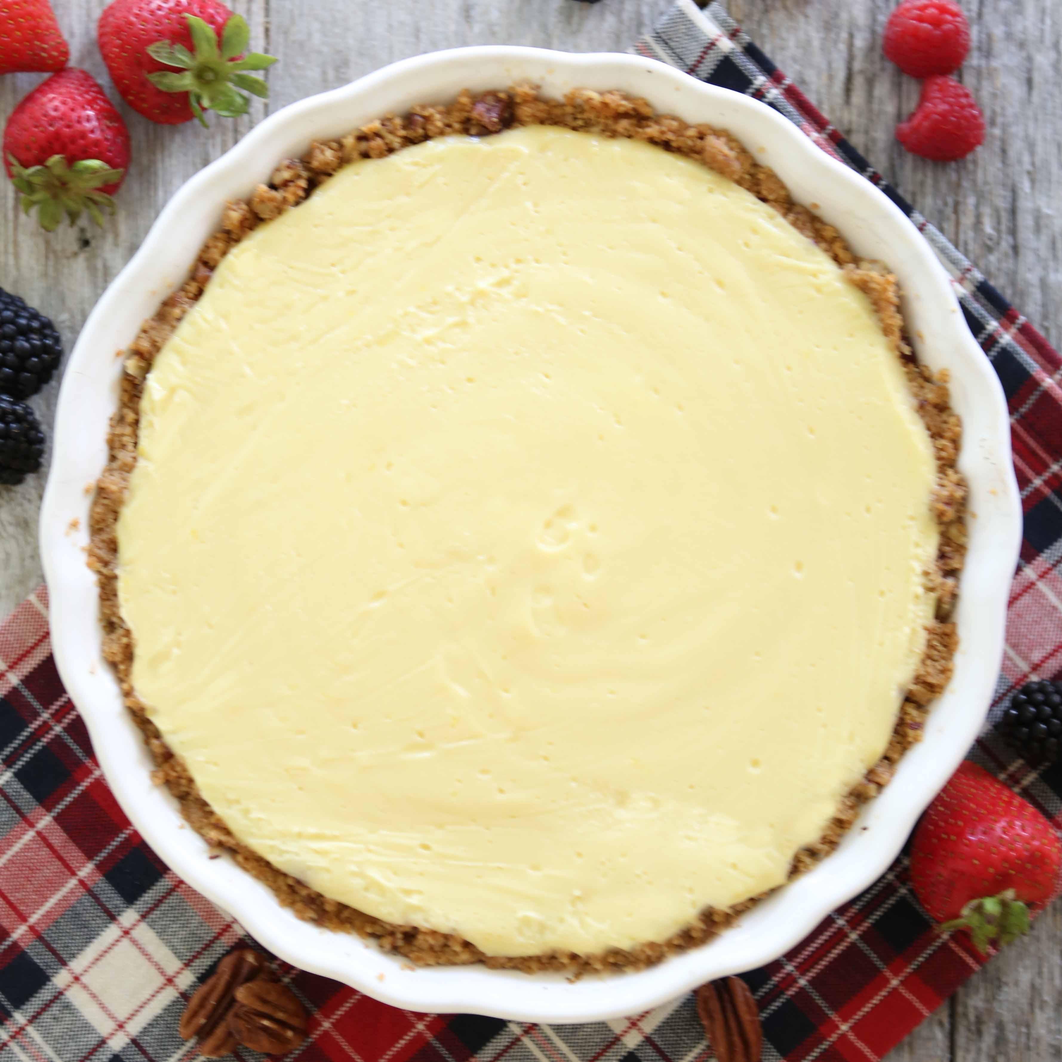 Berry Cream Pie Recipe
