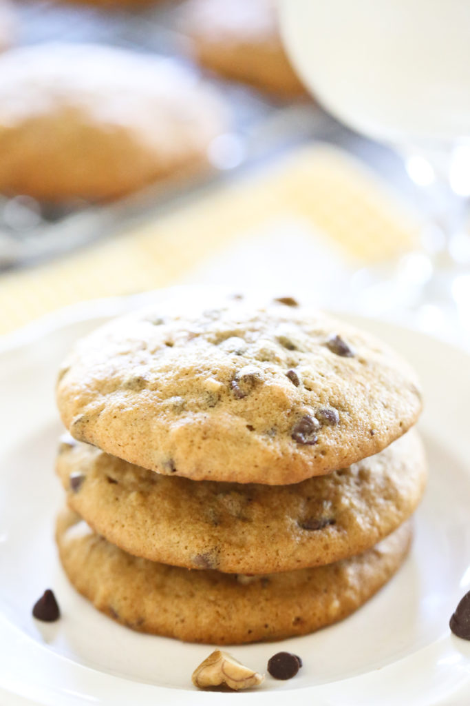 Homemade Banana Chocolate Chip Cookies