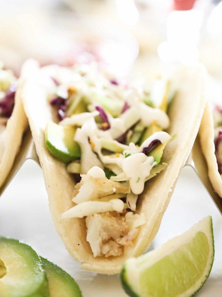 Homemade Fish Tacos