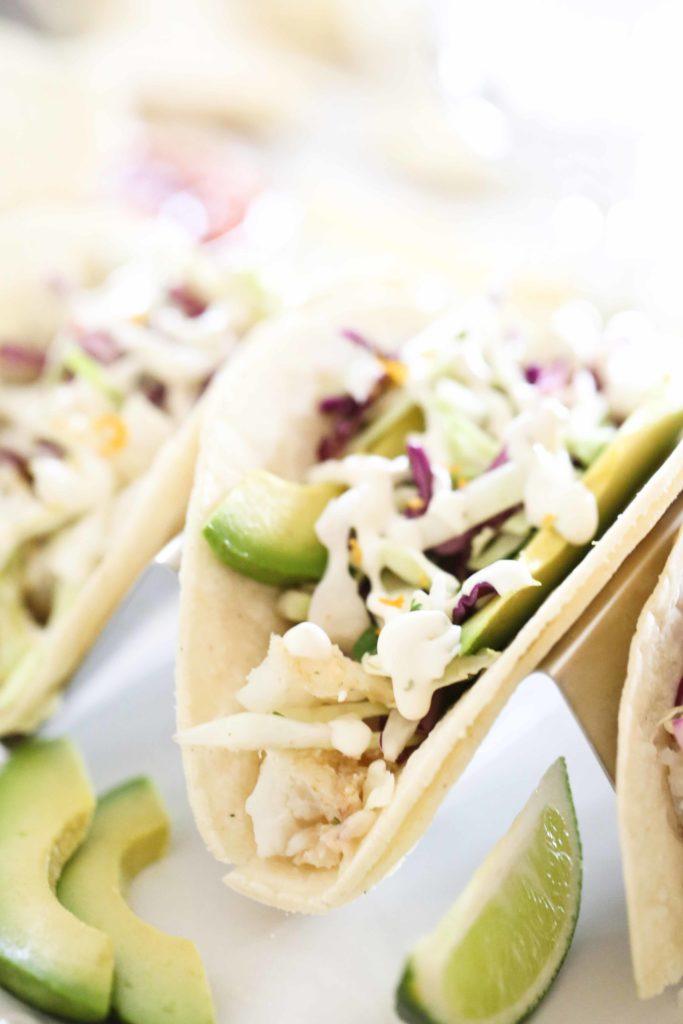 Three Fish Tacos