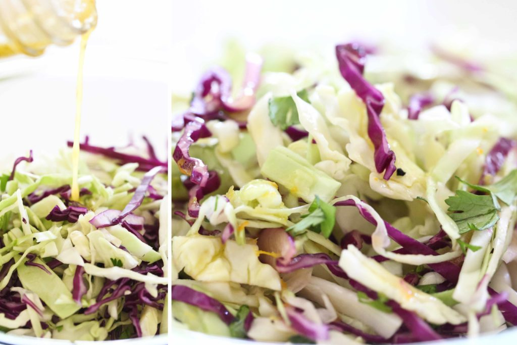 Citrus Slaw for Fish Tacos