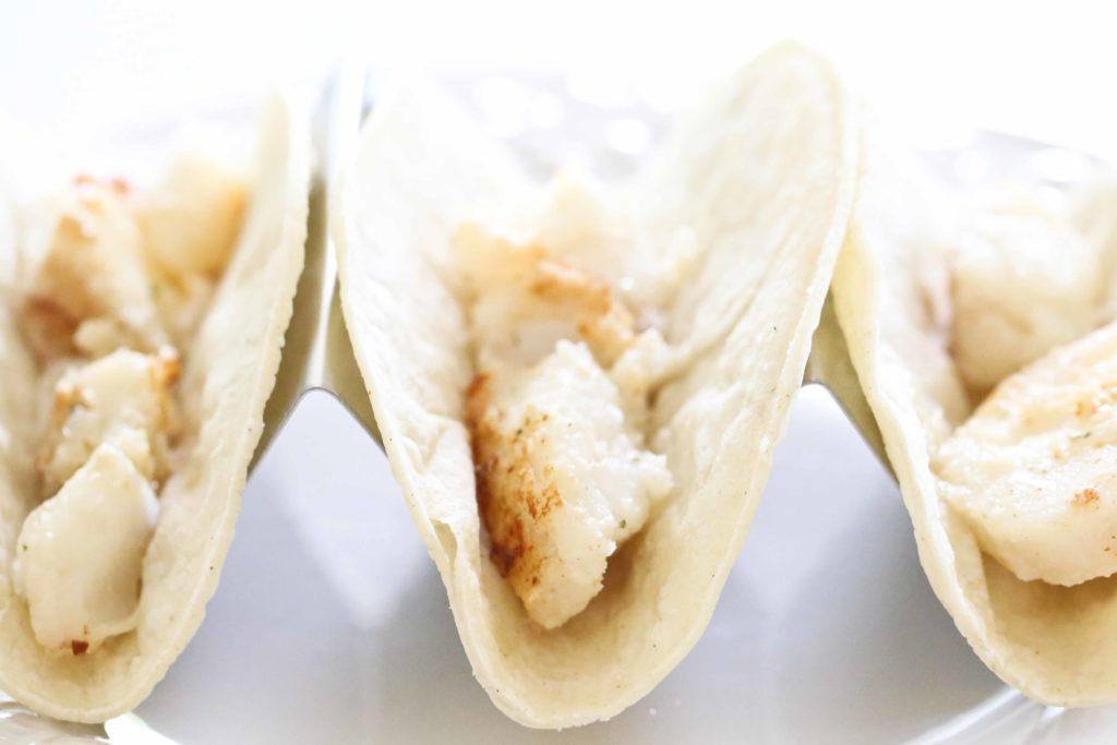 Assembling Fish Tacos